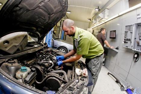 Los talleres perderán 90 euros por coche este año debido al confinamiento