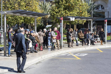 Los viajeros del transporte público urbano aumentarán un 3% este año
