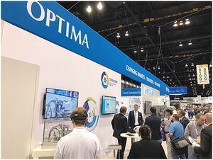 Los visitantes en los Estados Unidos quedaron fascinados por los productos digitales TCAM y OPAL. Son parte de la gestión del ciclo de vida de Optima Total Care.