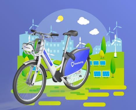 Así es Lovesharing, la empresa que alquila bicicletas y motos eléctricas en Canarias