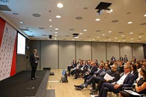 Luca de Meo, presidente de SEAT, durante el Startup Day el pasado 7 de octubre