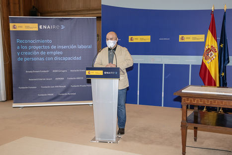 """ENAIRE obtiene el premio """"cermi.es 2020"""" por su estrategia de inclusión laboral de personas con discapacidad"""