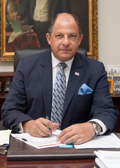 Luis Guillermo Solís, Presidente de Costa Rica.