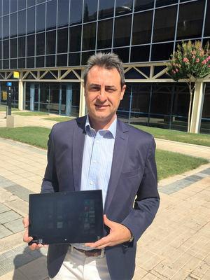 Luis Polo, director comercial de Toshiba para España y Portugal.