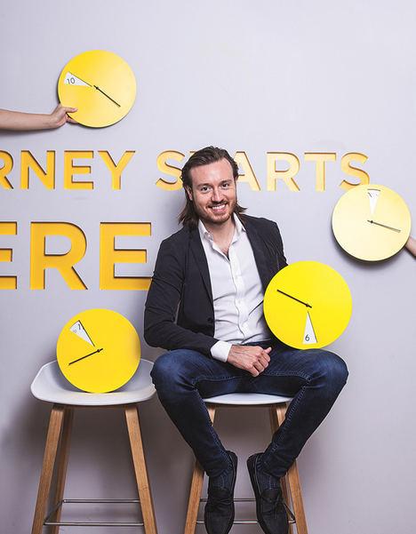 Luke Nolan, CEO y fundador de Student.com