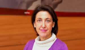 Luz García Cajete, directora de Comunicación Externa de Mapfre.