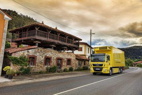 MAN trae a España un modelo sostenible de distribución de productos y frescos para los 'super'