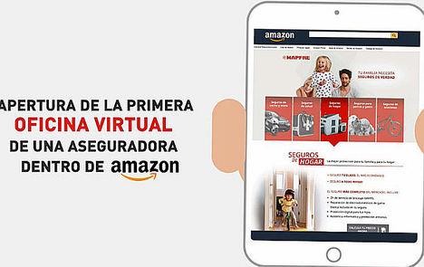 MAPFRE firma el primer acuerdo estratégico de una empresa de seguros con Amazon en España