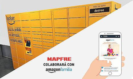 MAPFRE instala Amazon Lockers en las oficinas de su red comercial en España