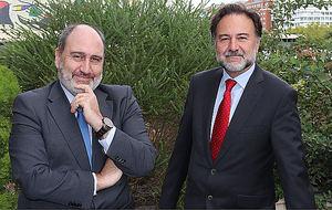 Mario Alonso y Javier Cantera.