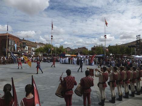 Medina del Campo hace una fiesta de su momento más triste y también glorioso