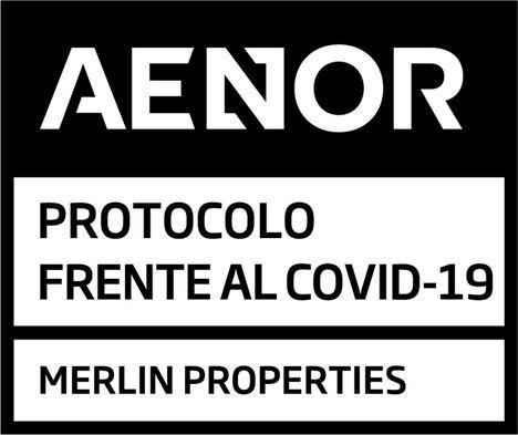 MERLIN Properties, primera inmobiliaria que cuenta con la certificación de activos frente al COVID-19 de AENOR en España y Portugal