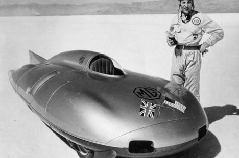 Aniversario del récord de velocidad de Stirling Moss con el MG EX 181