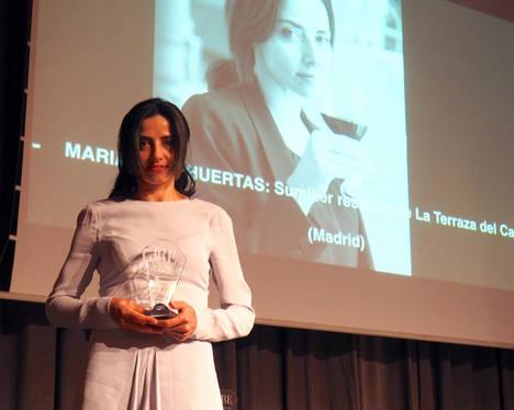 María José Huertas, premio JRE España a la Mejor Trayectoria como Sumiller