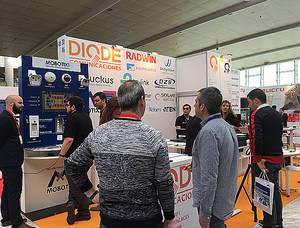 Gran acogida de las soluciones MOBOTIX presentadas por DIODE en el Congreso ASLAN2017