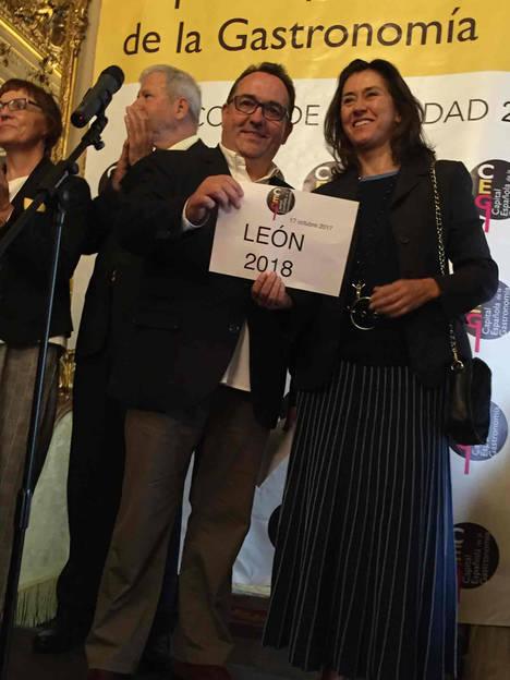León elegida Capital Española de la Gastronomía 2018