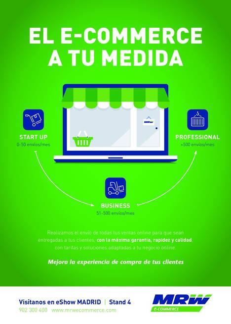 MRW presenta sus soluciones ecommerce en eShow Madrid
