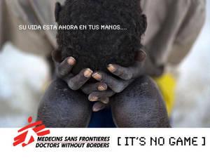 Una ONG y 4 empresas pequeñas con corazón emprendedor lanzan un juego móvil que te pondrá en la piel de Médicos Sin Fronteras: IT'S NO GAME