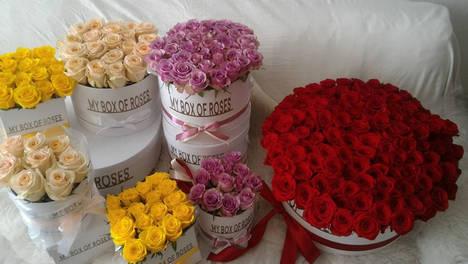 MY BOX OF ROSES propone un look innovador para un ramo de rosas