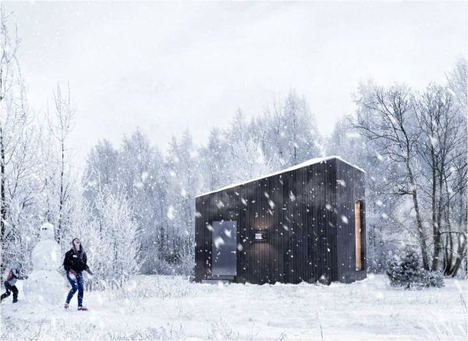 M&P Stands ha presentado uno de sus mejores proyectos en interiorismo: una casa modular sostenible