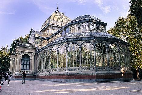 Madrid Palacio de Cristal.
