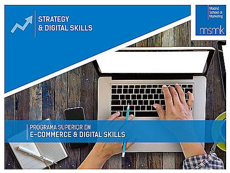 Madrid School of Marketing lanza un nuevo Programa Superior en e-Commerce & Digital Skills