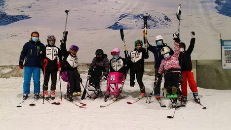 Estas navidades Madrid SnowZone acerca la nieve a niños con discapacidad