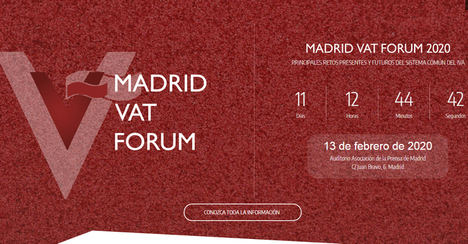 Madrid VAT Forum 2020 abordará los efectos del Brexit sobre el IVA