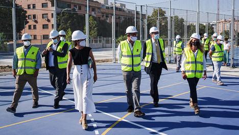 La Comunidad de Madrid crea 240 nuevas plazas educativas públicas con la ampliación del IES Antonio Fraguas Forges