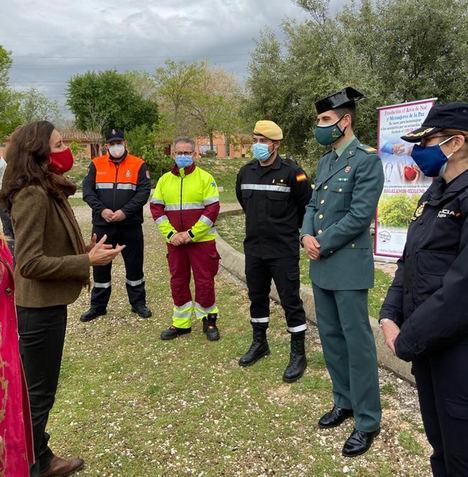 La Comunidad de Madrid reconoce la labor de sanitarios, UME y Fuerzas y Cuerpos de Seguridad del Estado en su lucha contra el COVID-19