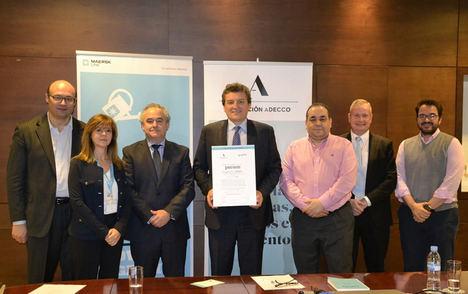 Maersk Line y la Fundación Adecco promoverán la inserción laboral de las personas con discapacidad
