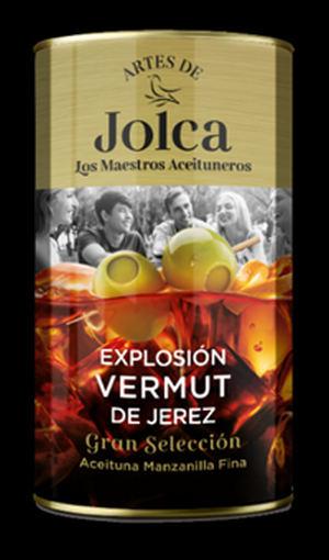Los Maestros Aceituneros de Jolca presentan su aperitivo más canalla: la primera aceituna rellena de vermut