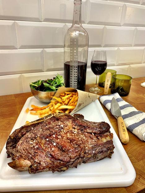 Maison Carne vuelve a poner toda la carne en el asador