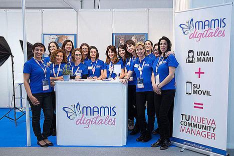 30 madres community managers dan cobertura al eShow de Barcelona en redes sociales