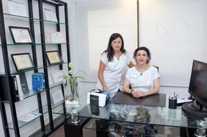 Manuela Sánchez-Cañete y Juani Deltell.