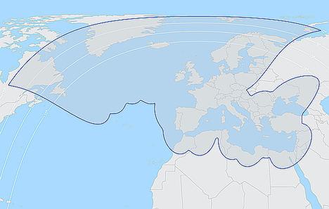 Mapa Cobertura Thor 7 Ka Telenor.