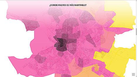 Un algoritmo señala el barrio de Universidad como la mejor zona para vivir en Madrid