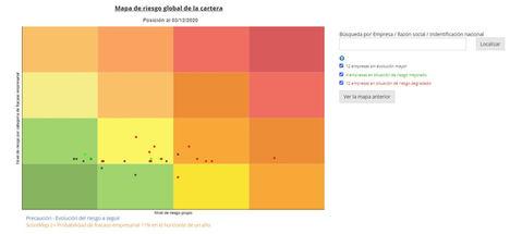 Pouey International lanza Scoremap para cartografiar la cartera de clientes y controlar su riesgo