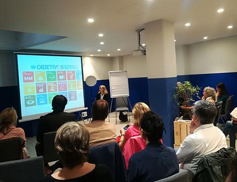 """María Cortés Puch (ONU) advierte del """"alto precio de la inacción"""" en sostenibilidad y anima al sector privado a implicarse más en la consecución de los Objetivos Mundiales"""
