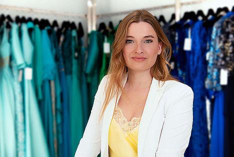 María Salas, diseñadora de moda.