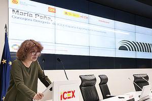 María Peña, consejera ICEX.