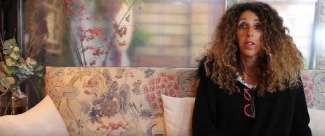 María Ángeles Calvo Verdeja, dueña de dos restaurantes en Santander