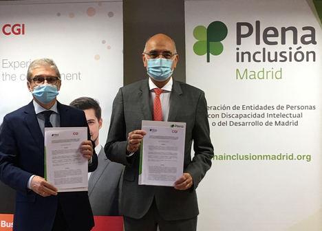 CGI y Plena Inclusión Madrid impulsan la empleabilidad de las personas con discapacidad intelectual en sectores TI, verdes y sostenibles