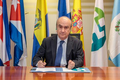 Mariano Jabonero, secretario general de la Organización de Estados Iberoamericanos.