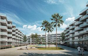 CHM ejecutará la obra del conjunto residencial Marina Real II en Dénia