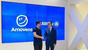 Mario Carranza, CEO de Amovens, y José Luis Ferré, CEO de Allianz.