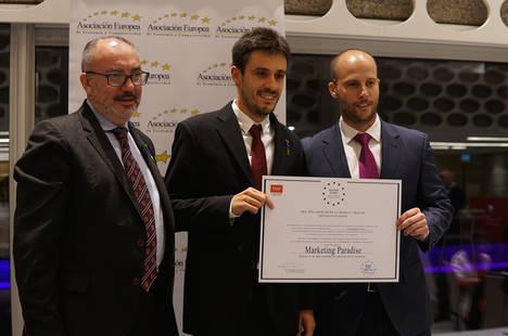 Marketing Paradise recibe la Medalla Europea al Mérito en el Trabajo