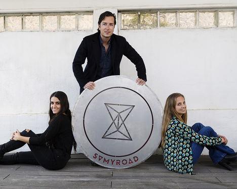 Marta Nicolás, Juan Sánchez y Patricia Ratia - SamyRoad.