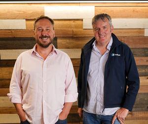 Martin Bysh, CEO de Huboo y Paul Dodd, el cofundador y CTO de Huboo.