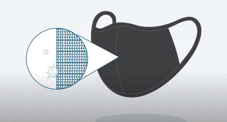 Llega a España la primera mascarilla reutilizable que inactiva el COVID-19